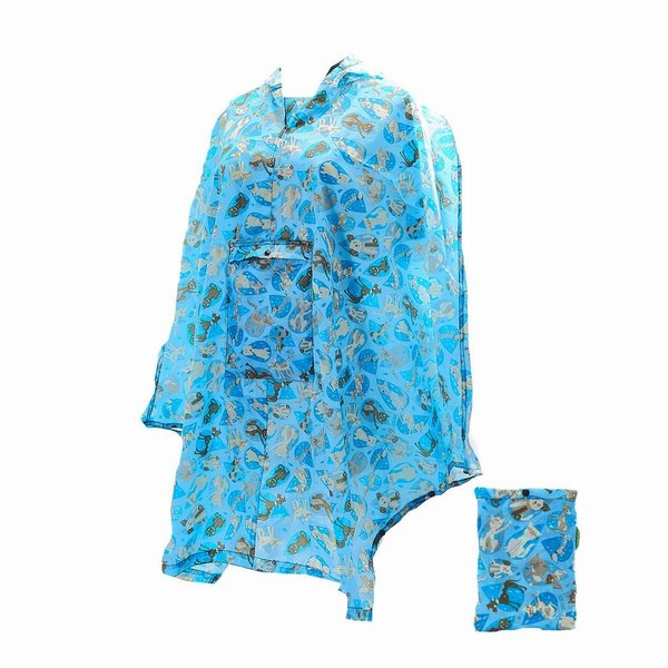Raining Cats and Dogs Poncho`